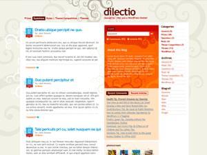 Темы для WordPress -  Dilectio