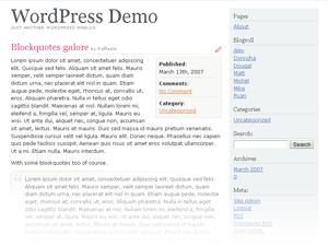 Темы для WordPress -  MiniBits