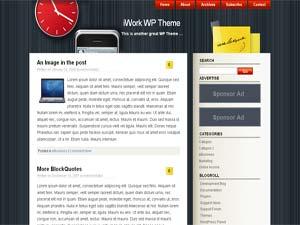 Темы для WordPress -  iWork