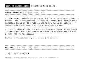 Темы для WordPress -  Geex3m