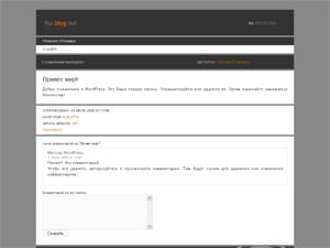 Темы для WordPress -  Blog Hut