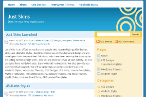 Скачать тему для WordPress -  Accord