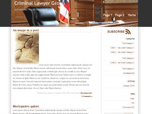 Скачать тему для WordPress -  Law