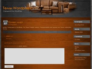 Скачать тему для WordPress -  Glaze