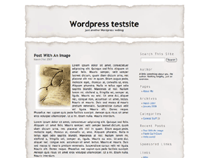 Скачать тему для WordPress -  Stained