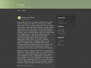 Emire шаблон для CMS WordPress