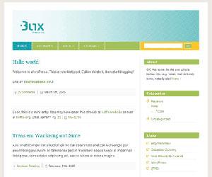 Тема для Вордпресс - Blix