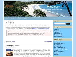 Скачать тему для WordPress - Travel-12
