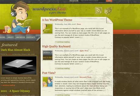 Темы для WordPress -  Periodico