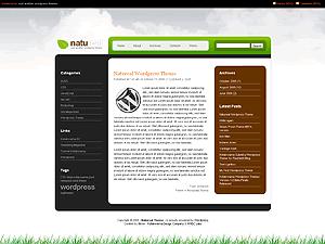 Naturel русская тема WordPress