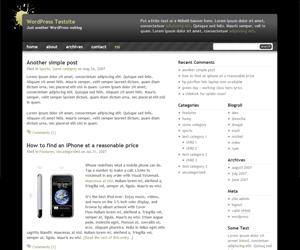 Black Splat WR бесплатная тема для WP