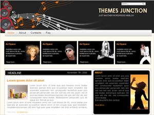 MusicMagazine бесплатная тема вордпресс