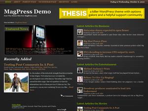 Encribe бесплатная тема для WordPress 3.0