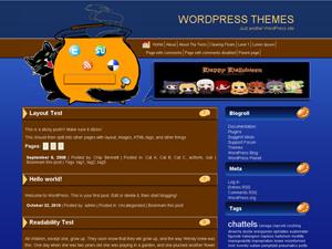 Happy-halloween тема для WordPress