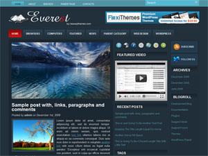 Everest русская тема для Ворд пресс