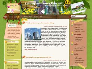 Las-vegas-sanity шаблон для WordPress