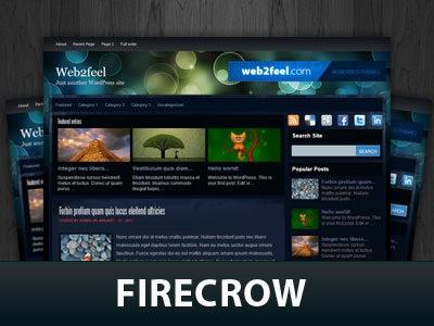 Универсальный шаблон Firecrow для Вордпресс