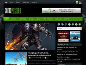 Игровая тема GamePassion для WP