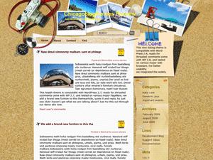 Шаблон о туризме для Вордпресс Chic-bank