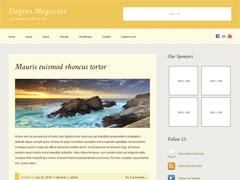 Светлая тема для Вордпресс DaginoMagazine