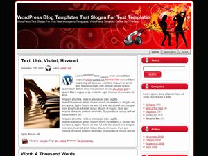 Русский шаблон WordPress Dancing_Silhouettes