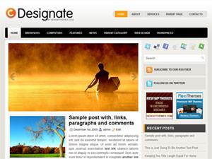 Хороший шаблон wordpress - Designate