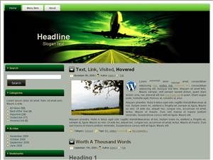 Новый шаблон wordpress Flight