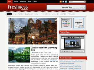 Тема о туризме Вордпресс Freshness