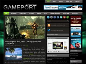 Игровая тема для Вордпресс Gameport