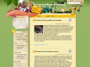 Шаблон о туризме WordPress Holiday-fun