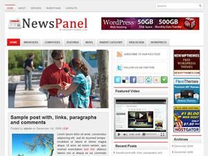 Новостной шаблон ВП NewsPanel