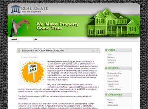Шаблон wordpress строительство и недвижимость - Real-estate-perfection