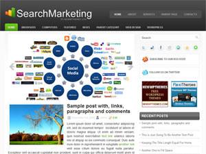 Бизнес шаблон Вордпресс SearchMarketing