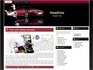 Автошаблон для WordPress Stylish