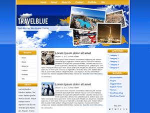 Шаблон туризм Travelblue для WP