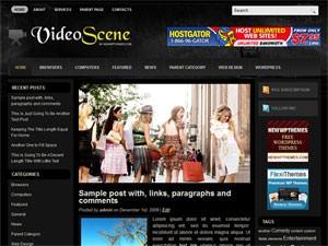 Журнальный шаблон wordpress VideoScene
