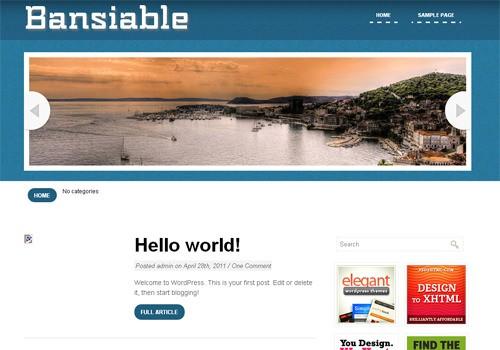 Русифицированная тема Bansiale
