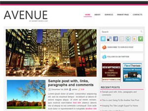 Бизнес тема Avenue