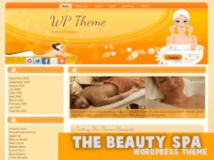 Шаблон о красоте TheBeautySpa WordPress