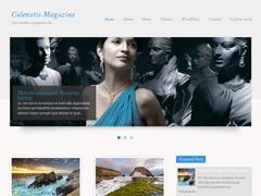 Стильный шаблон WordPress CalenotisMagazine