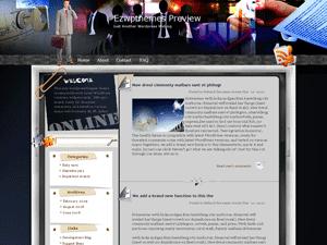 Бизнес шаблон Вордпресс Coffee_and_TV