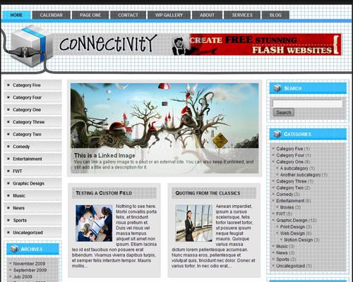 Современная тема WordPress Connectivity