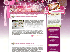 Свадебная тема Fairy-tales-wedding для Вордпресс