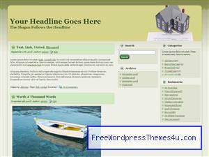 Тема о недвижимости для Вордпресс Home_loan_and_sale