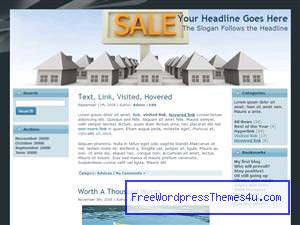 Тема Вордпресс недвижимость Home_sale_listings