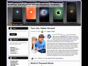 Шаблон о телефонах iPhone_Apple для Вордпресс