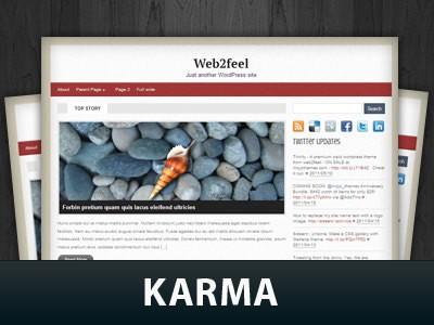 Универсальная тема WordPress Karma