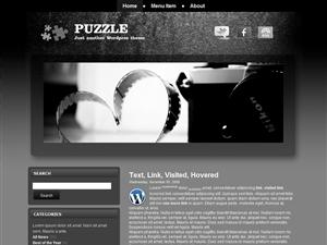 Шаблон галерея Вордпресс Puzzle