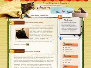 Тема о домашних животных для WP Restless_Heart_Syndrome