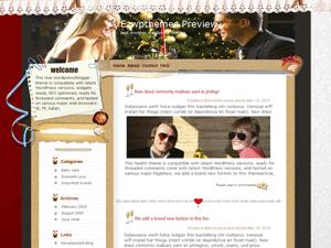 Шаблон знакомства WordPress Tender